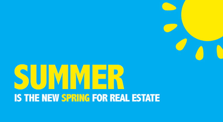 Summer is the New Spring for Real Estate [INFOGRAPHIC] – Keeping Current Matters