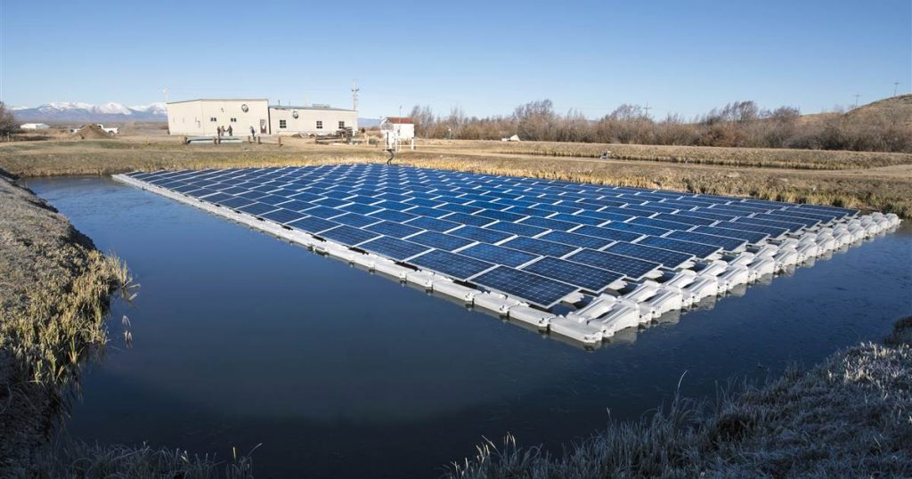 Floating solar farms: How 'floatovoltaics' could provide power without taking up valuable real estate