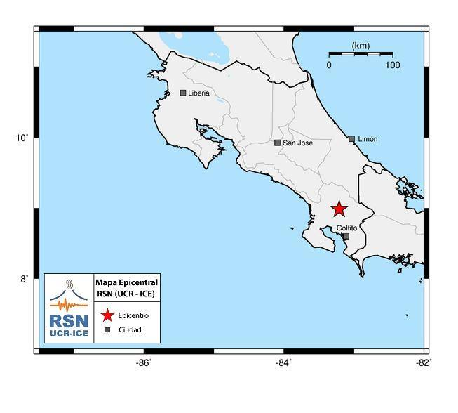 Magnitude 5.4 earthquake rattles Costa Rica on Friday night – The Tico Times   Costa Rica News   Travel   Real Estate