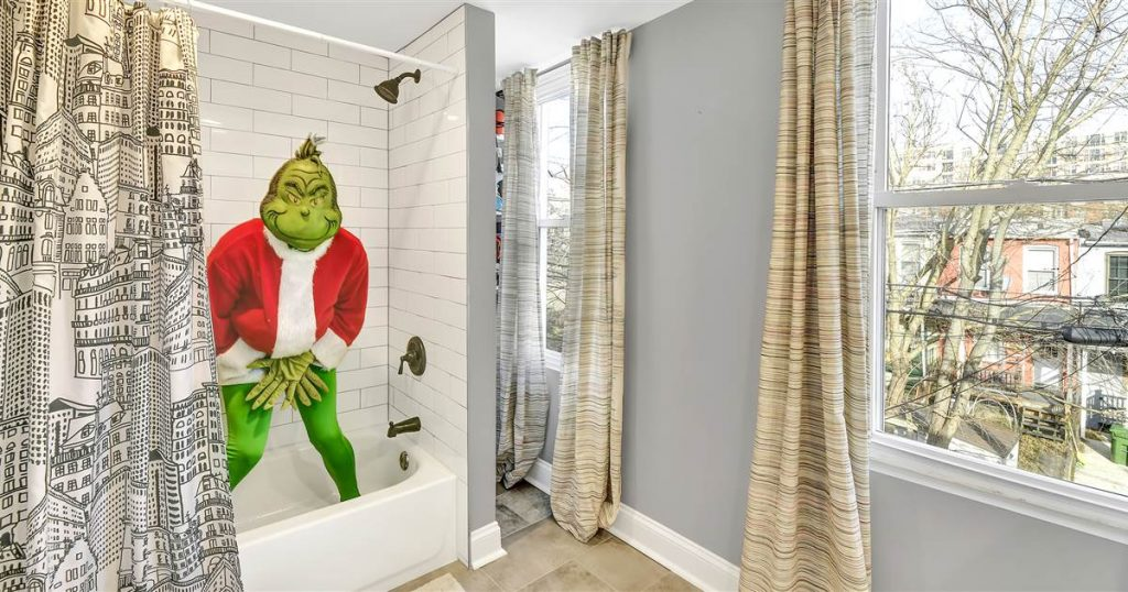 The Grinch shows off a house in hilarious real estate listing