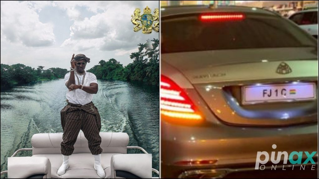 Pictures Of The Luxury Mercedes May Bach Belonging To Ghanaian Millionaire And Real Estate Developer Nana Kwame Bediako Goes Viral