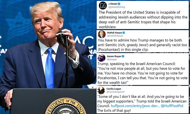 Trump is slammed by Jewish Democrats for saying  those in real estate are 'brutal killers' | Daily Mail Online