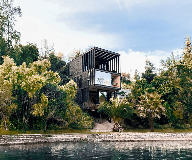 Waterfront Luxury Real Estate Chile Hsü-Rudolphy's Slope House