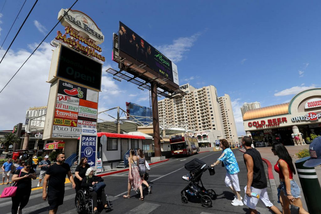 Las Vegas Strip real estate sold for $172M | Las Vegas Review-Journal